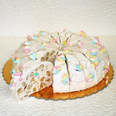 Gâteau de Nougat Guimauve