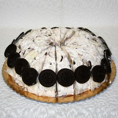 Gâteau de Nougat Biscuit noir