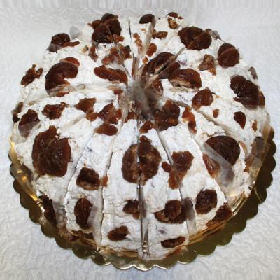 Gâteau de Nougat Marrons...