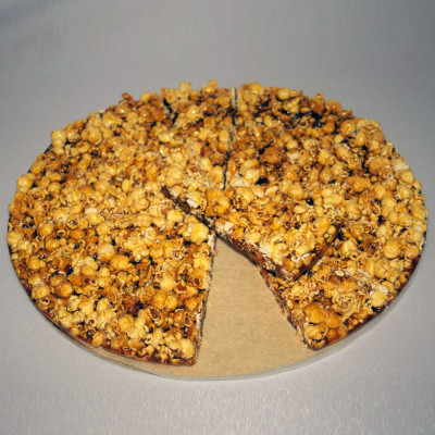 Tarte croquante Pop Corn
