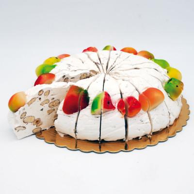 Gâteau de Nougat Massepain